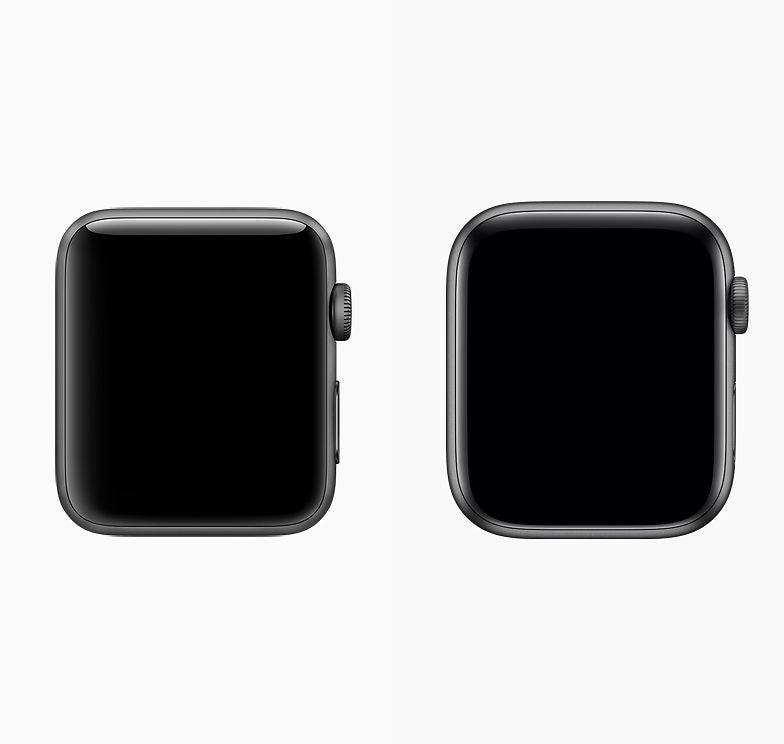 Caixas dos Apple Watches Series 3 e 4