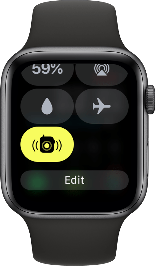 App Walkie-Talkie na Central de Controle do watchOS 5.1.2