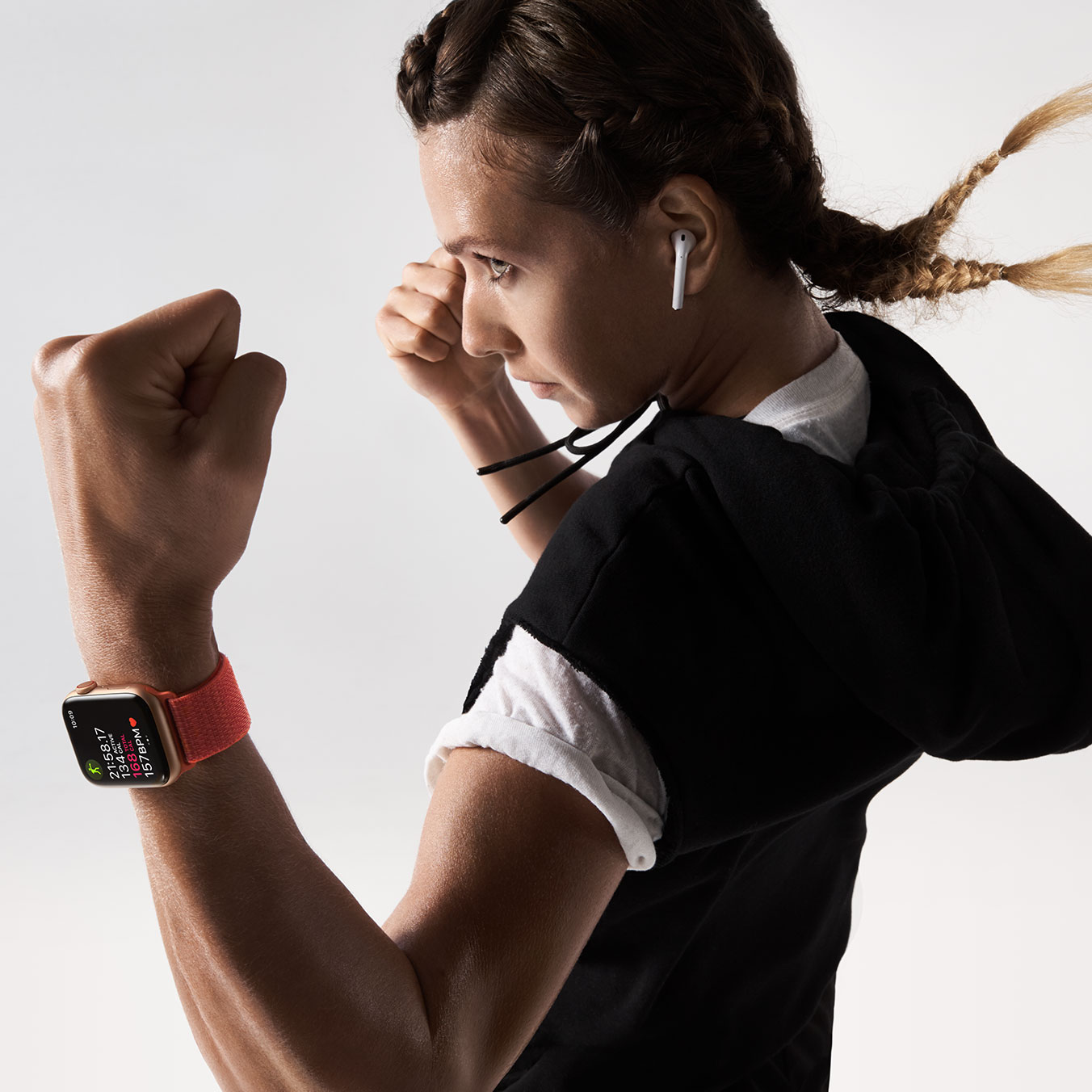 Exercício com o Apple Watch Series 4