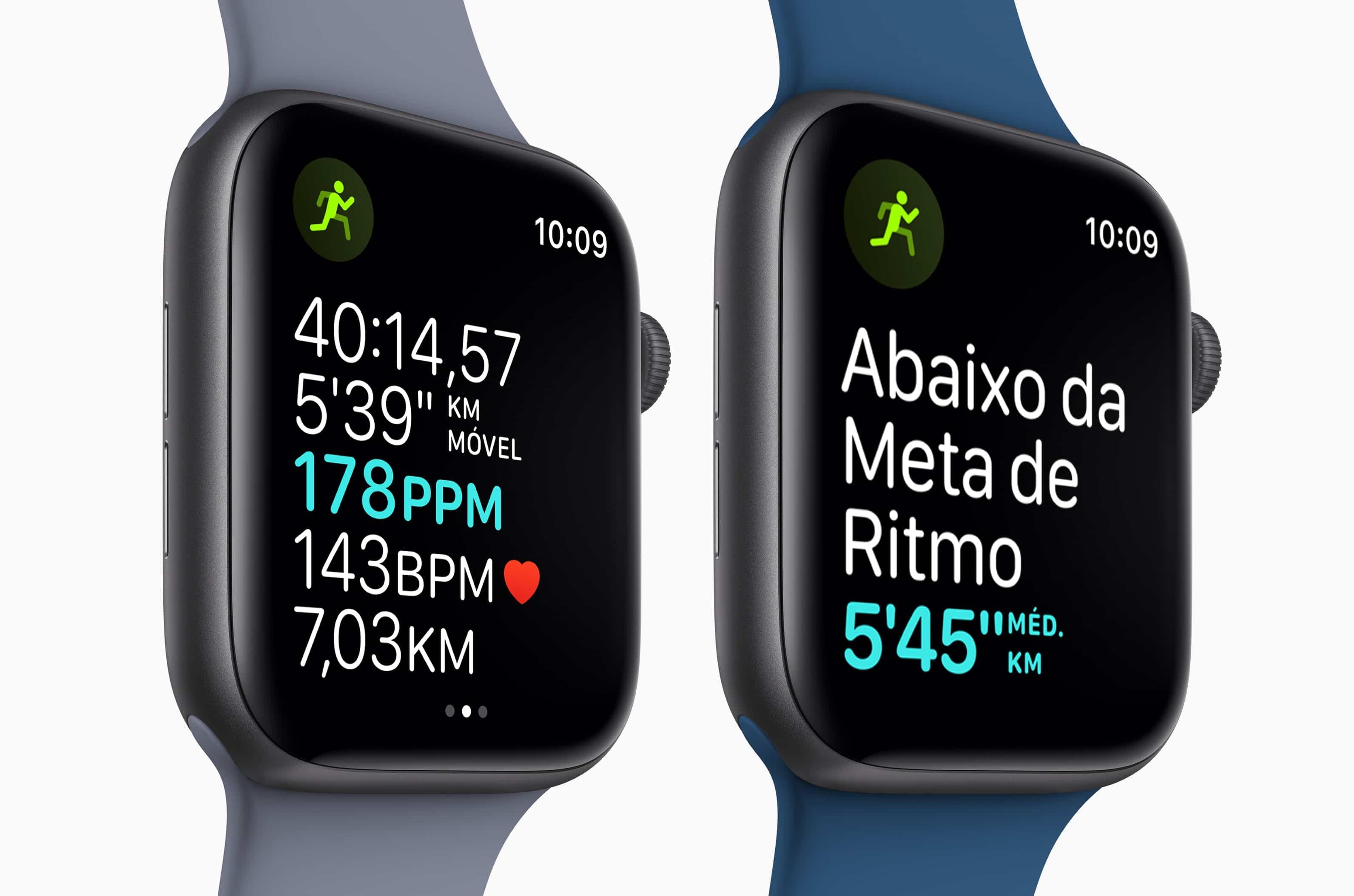 App Exercício no Apple Watch Series 4