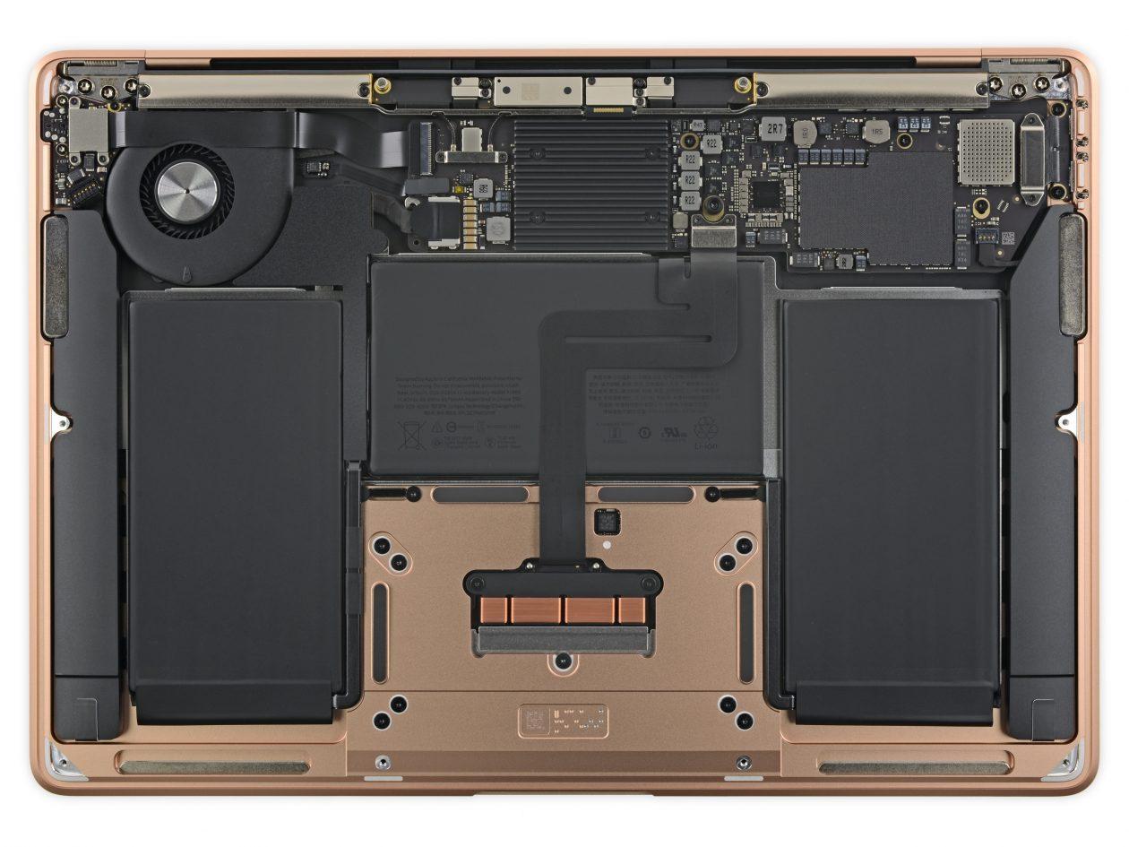 Desmonte do novo MacBook Air feito pela iFixit