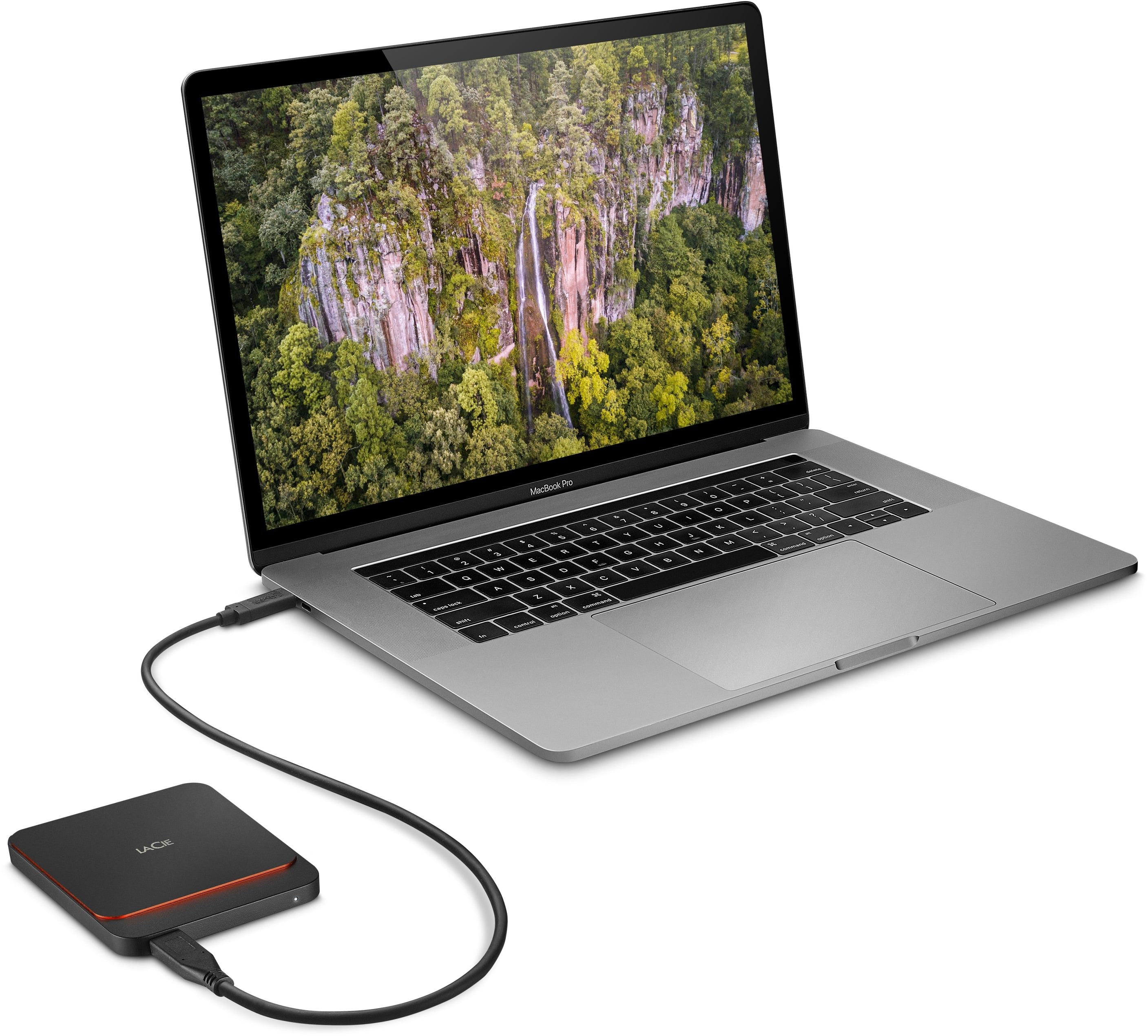 MacBook Pro e SSD USB-C da LaCie