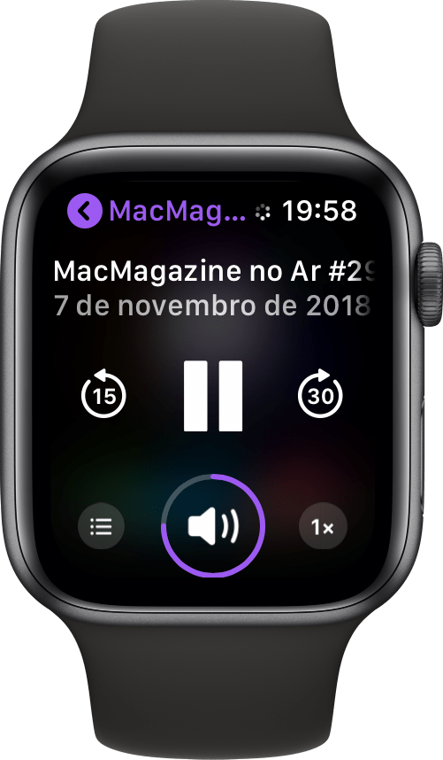 MM no Ar no Apple Watch Series 4