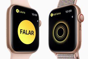 Walkie Talkie no Apple Watch Series 4
