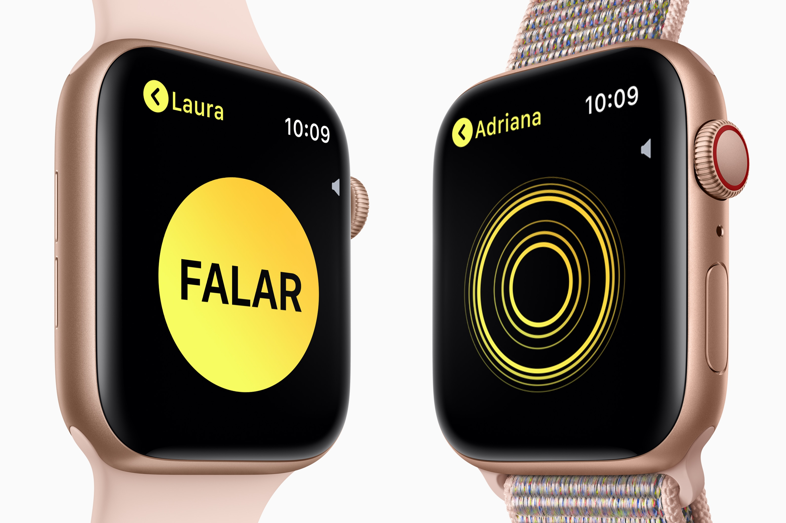 Walkie Talkie no Apple Watch Series 4