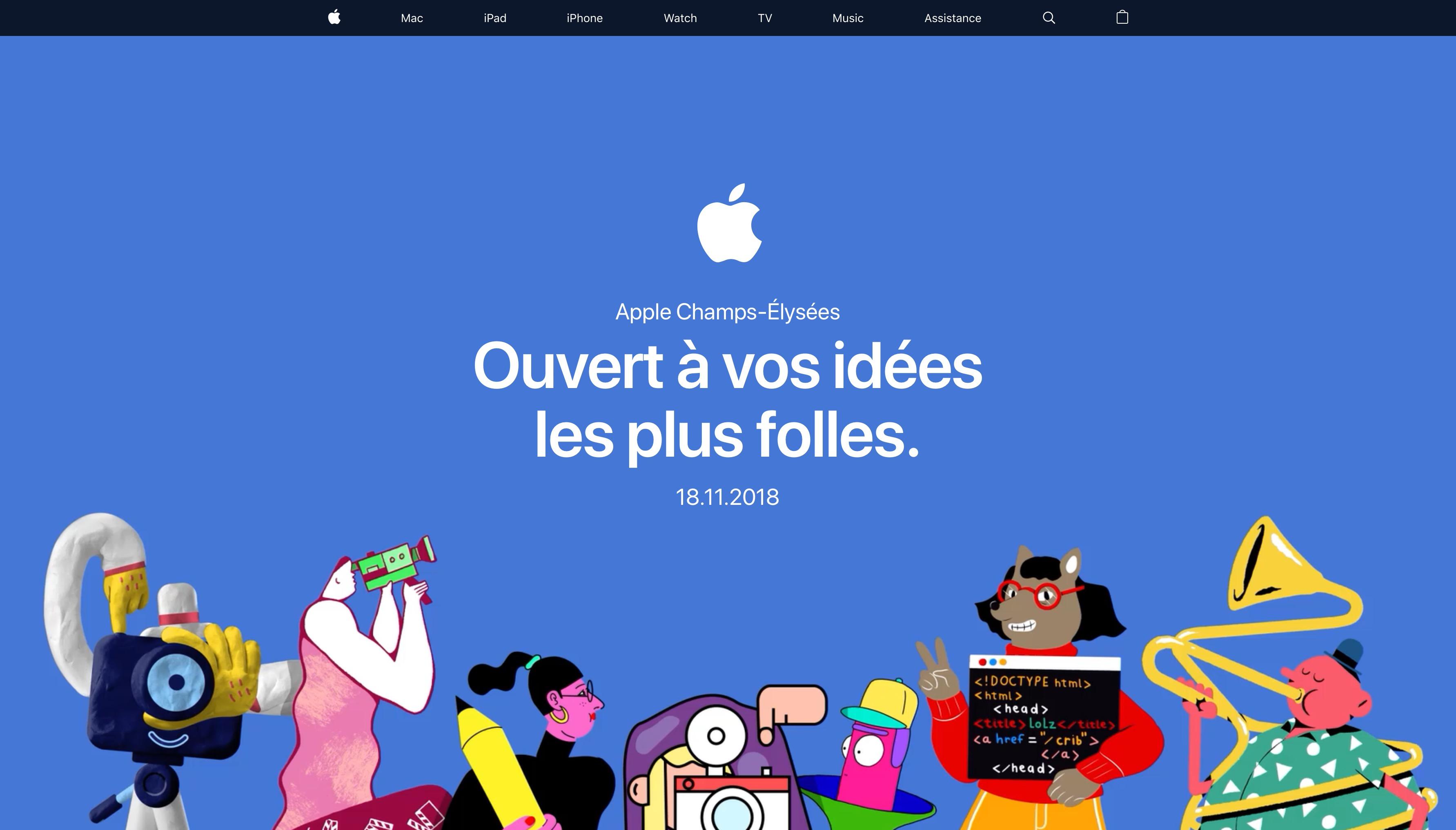 Apple Champs Élysées