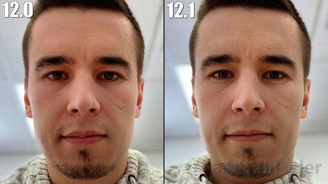 Comparação de fotos no iPhone XS Max