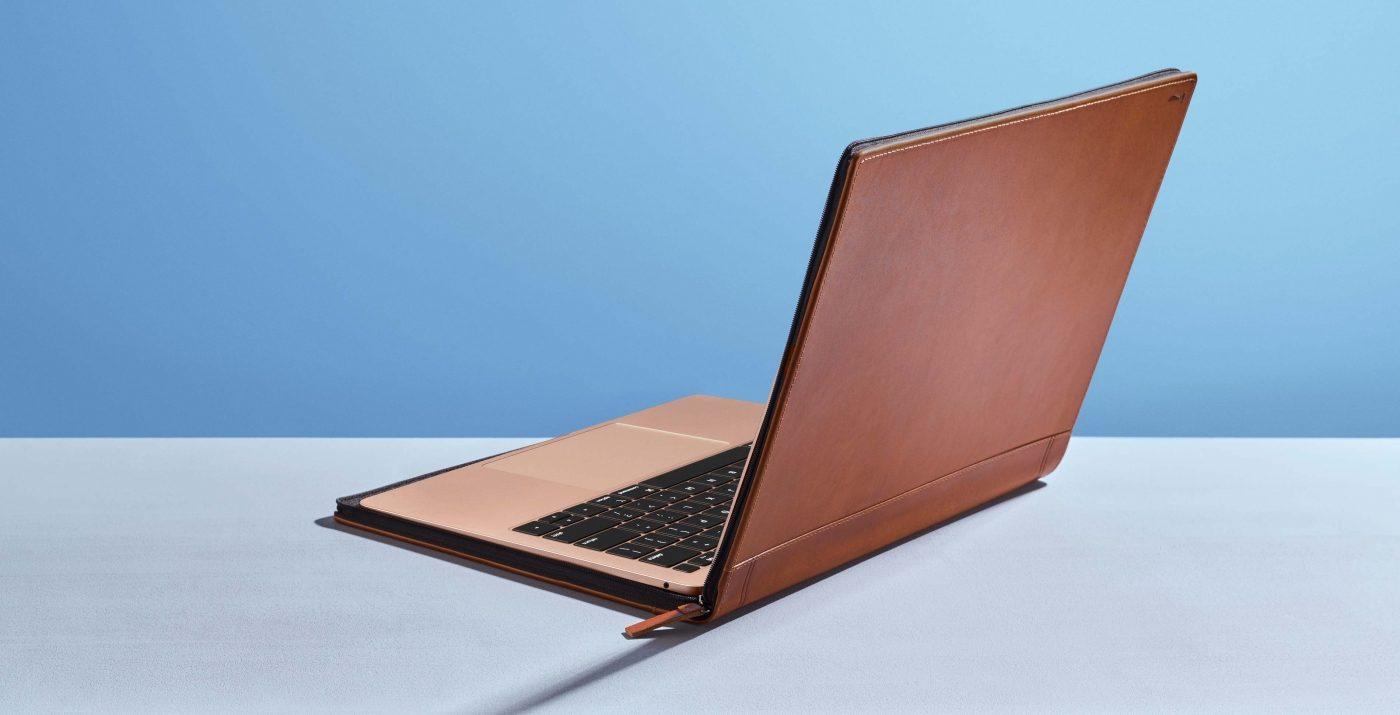 Capa para MacBook Air e Pro Journal, da Twelve South