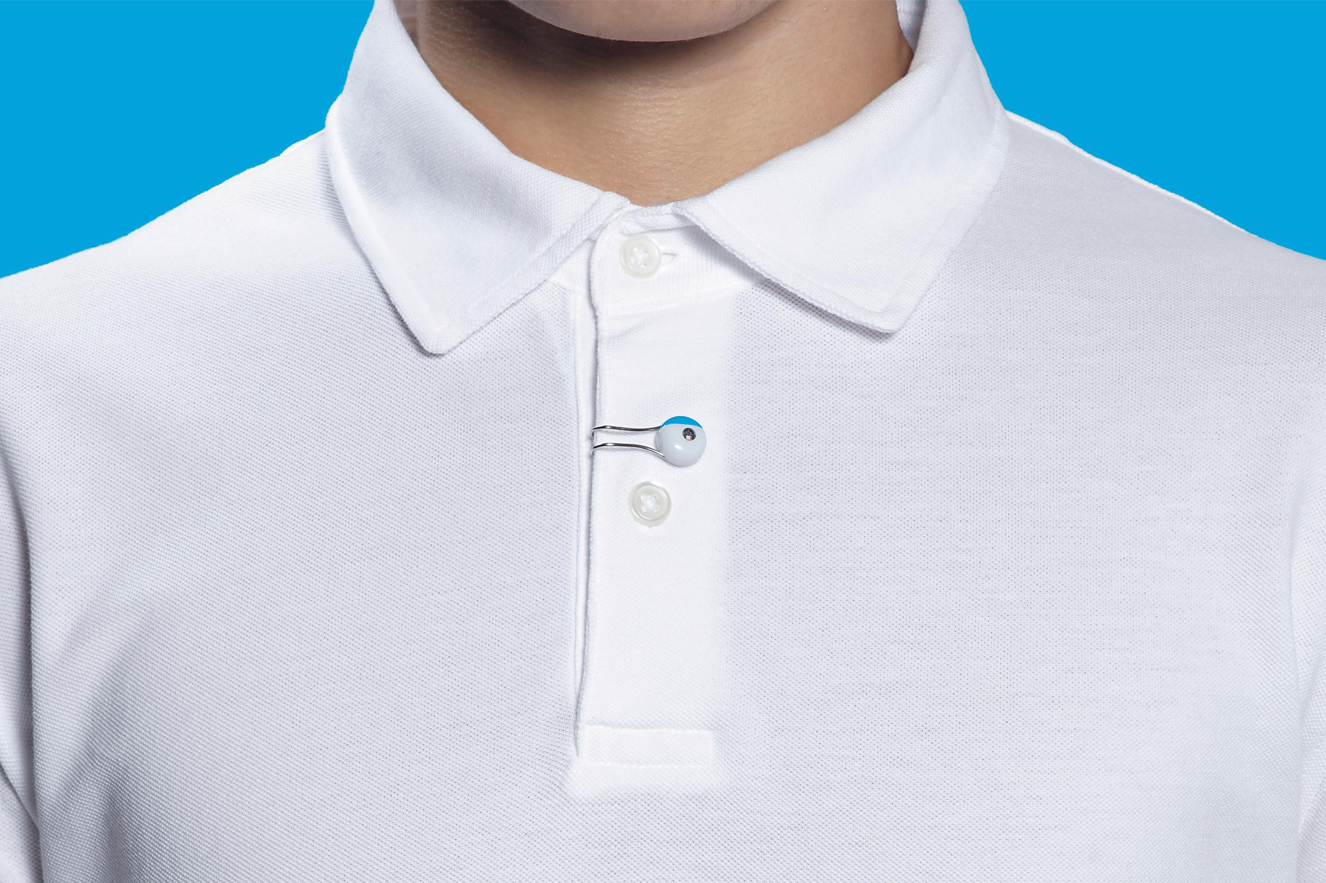 Sensor da Sensor da La Roche-Posay na camiseta