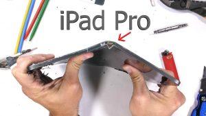 iPad Pro entortado