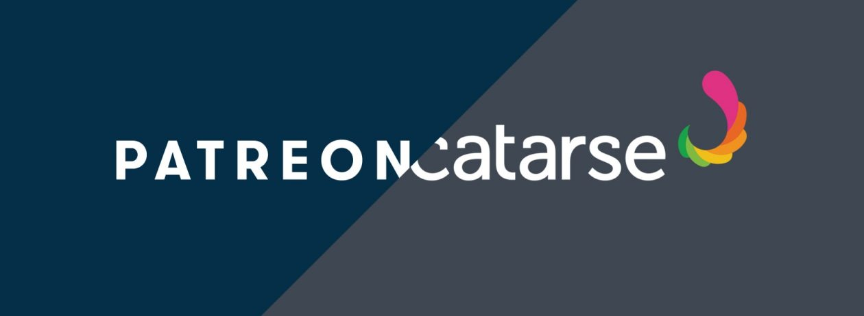 Logos do Patreon e do Catarse