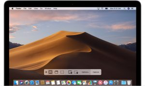 Screenshots no macOS Mojave