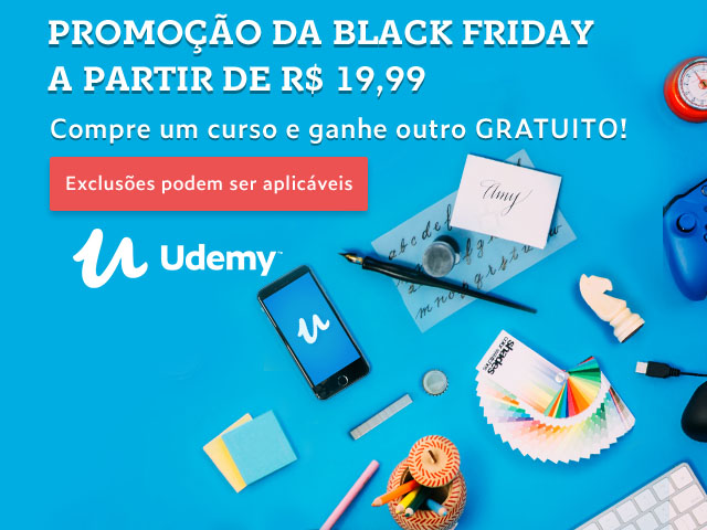 Black Friday da Udemy