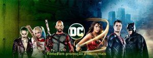 Filmes da DC em promoção
