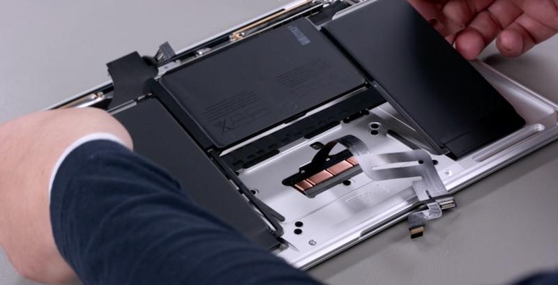 Troca de bateria do novo MacBook Air