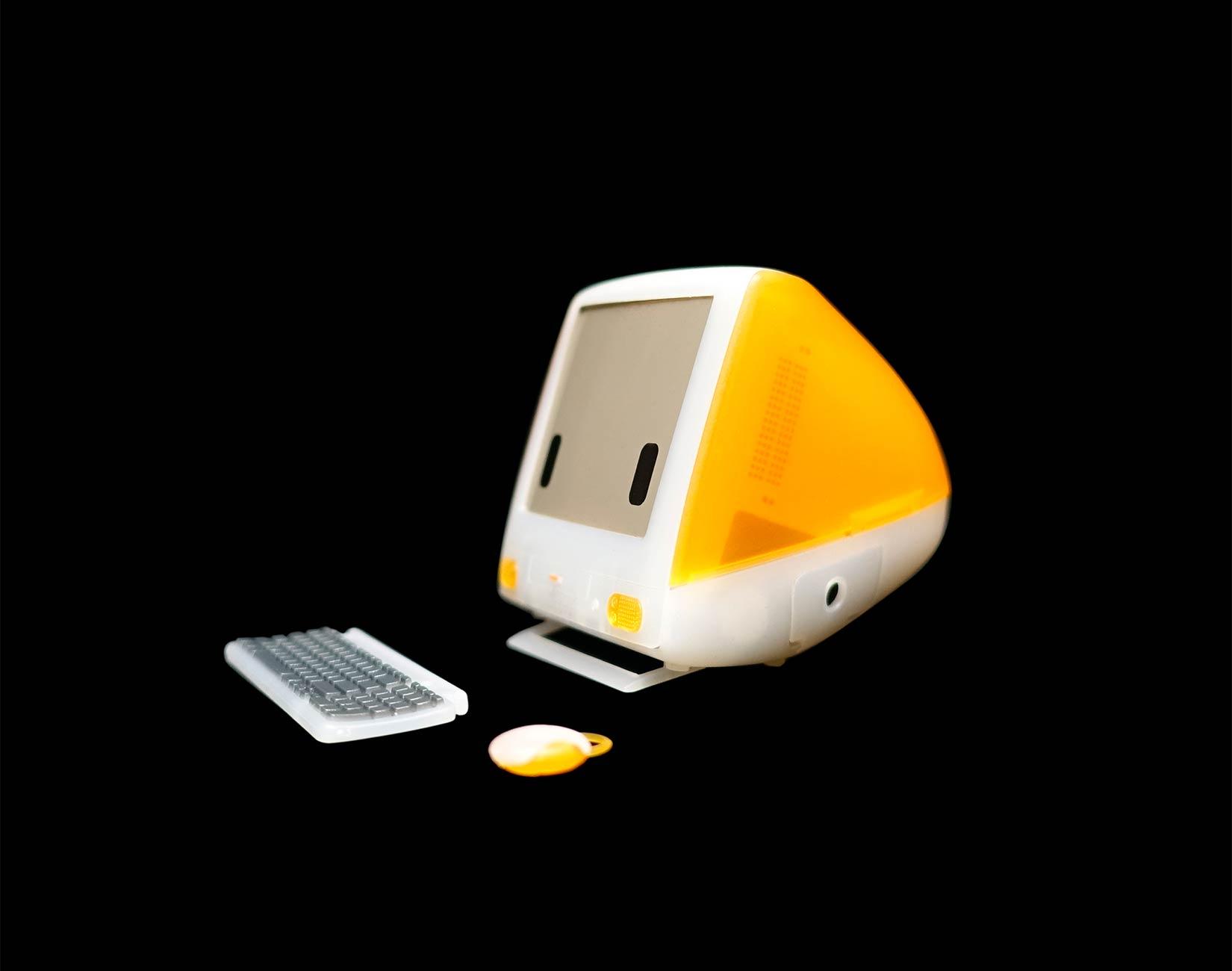 iBot G3, versão de brinquedo do iMac G3