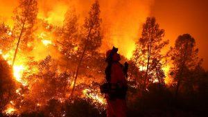 incêndios florestais na Califórnia em 2018