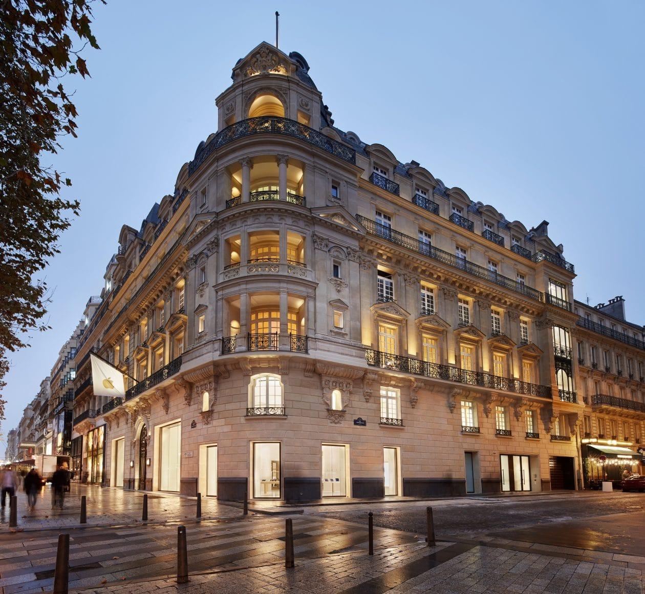 Apple Champs-Élysées em Paris (França)