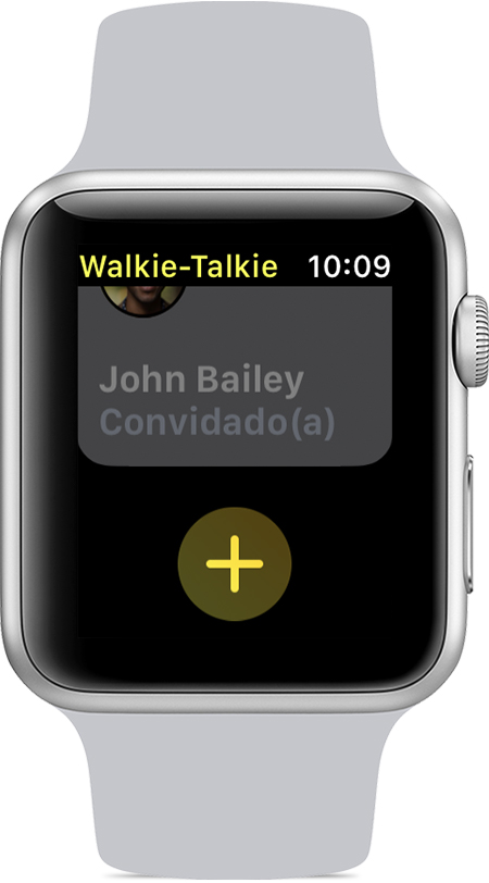 Walkie-Talkie no Apple Watch