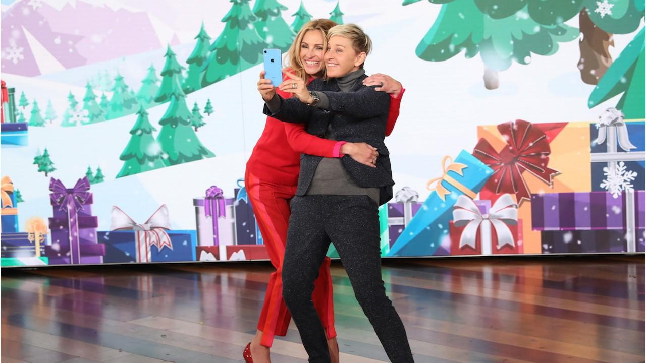 Ellen DeGeneres e Julia Roberts