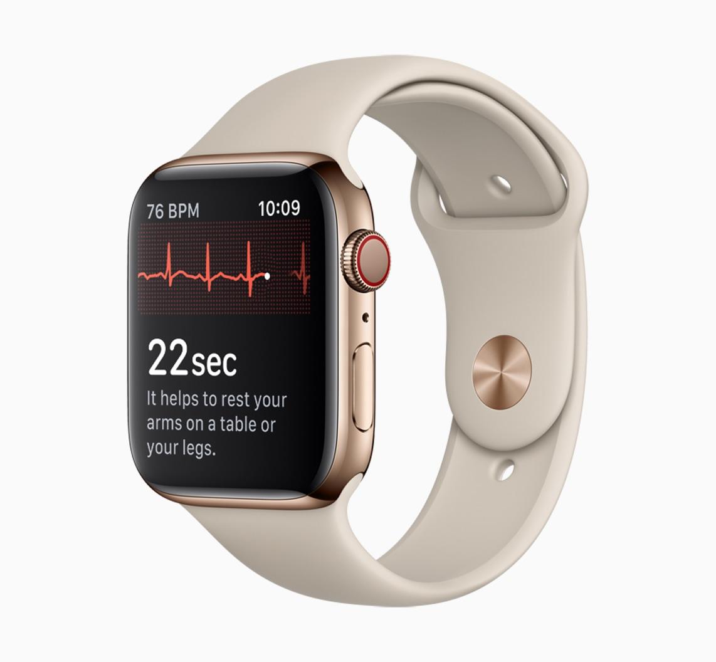 ECG no Apple Watch Series 4