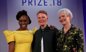 Chimamanda Ngozi Adichie, Charlotte Prodger e Maria Balshaw no Turner Prize