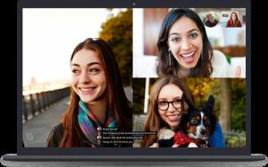 Transcrição de chamadas no Skype