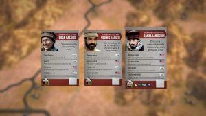 Personagens do jogo Afghanistan '11