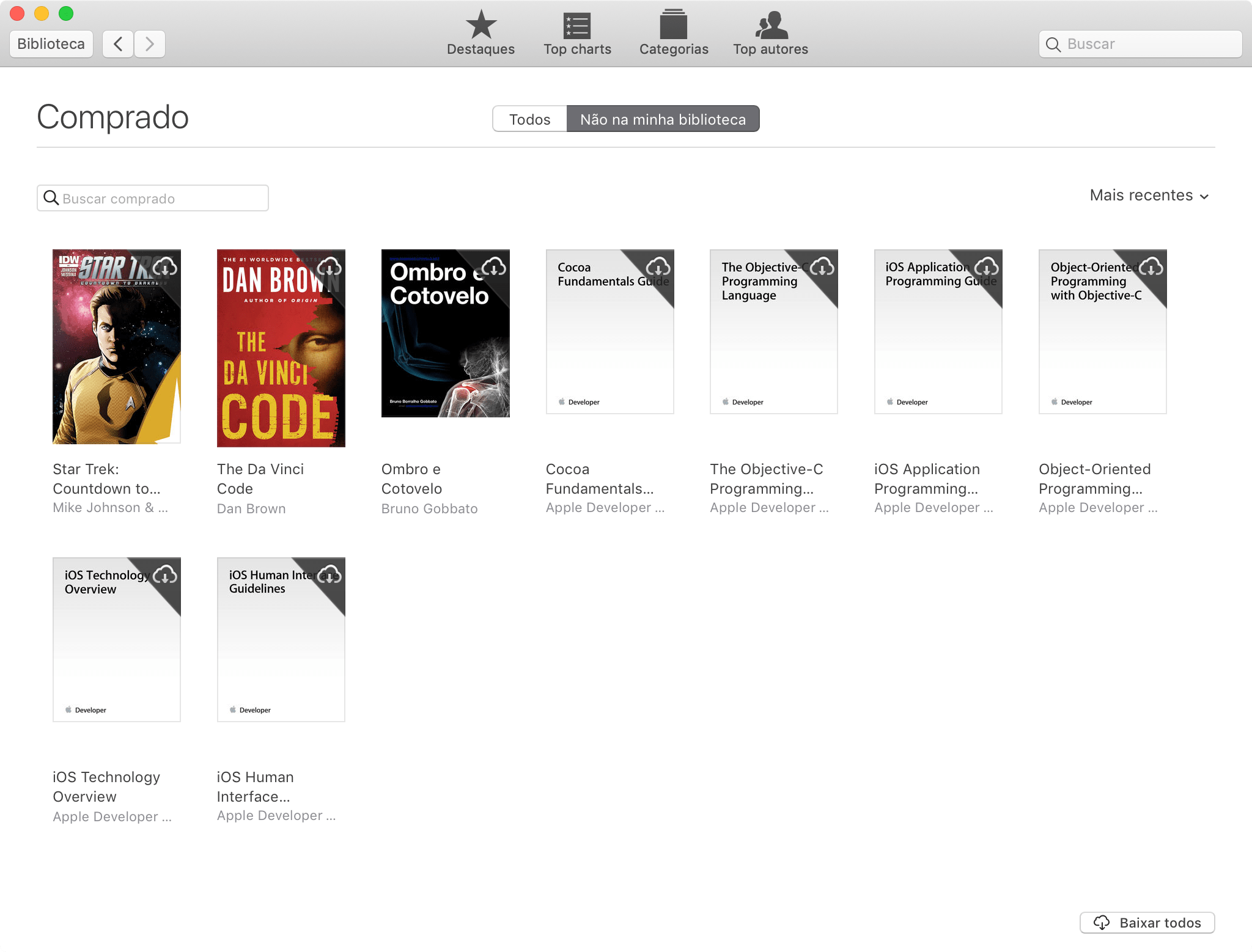 Downloading a book purchased from iBooks Store