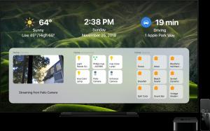 DayView, app que dá um painel de informações à Apple TV