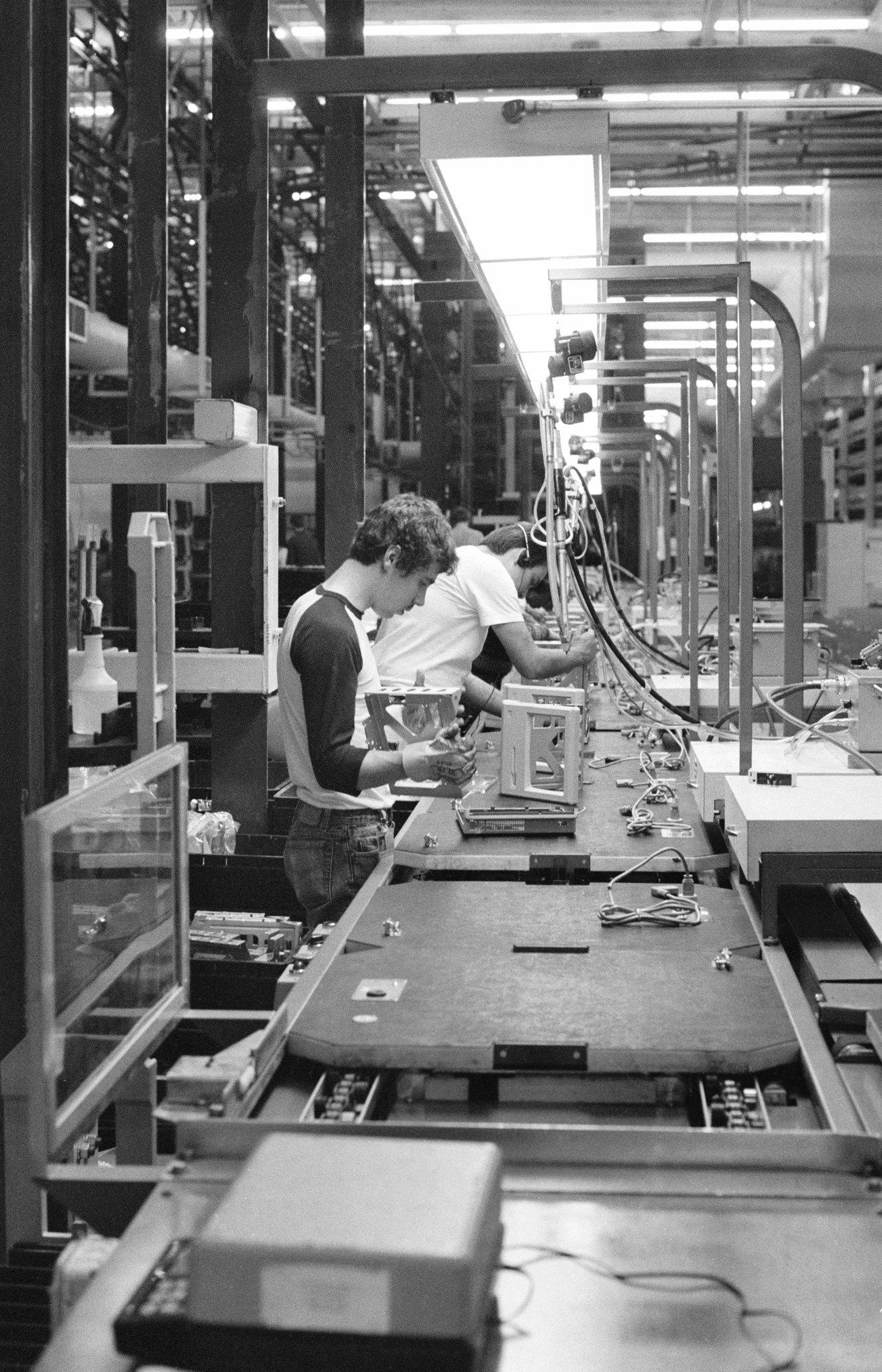 Montagem do Macintosh, 1984