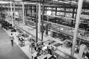 Fábrica da Apple em Fremont, 1984