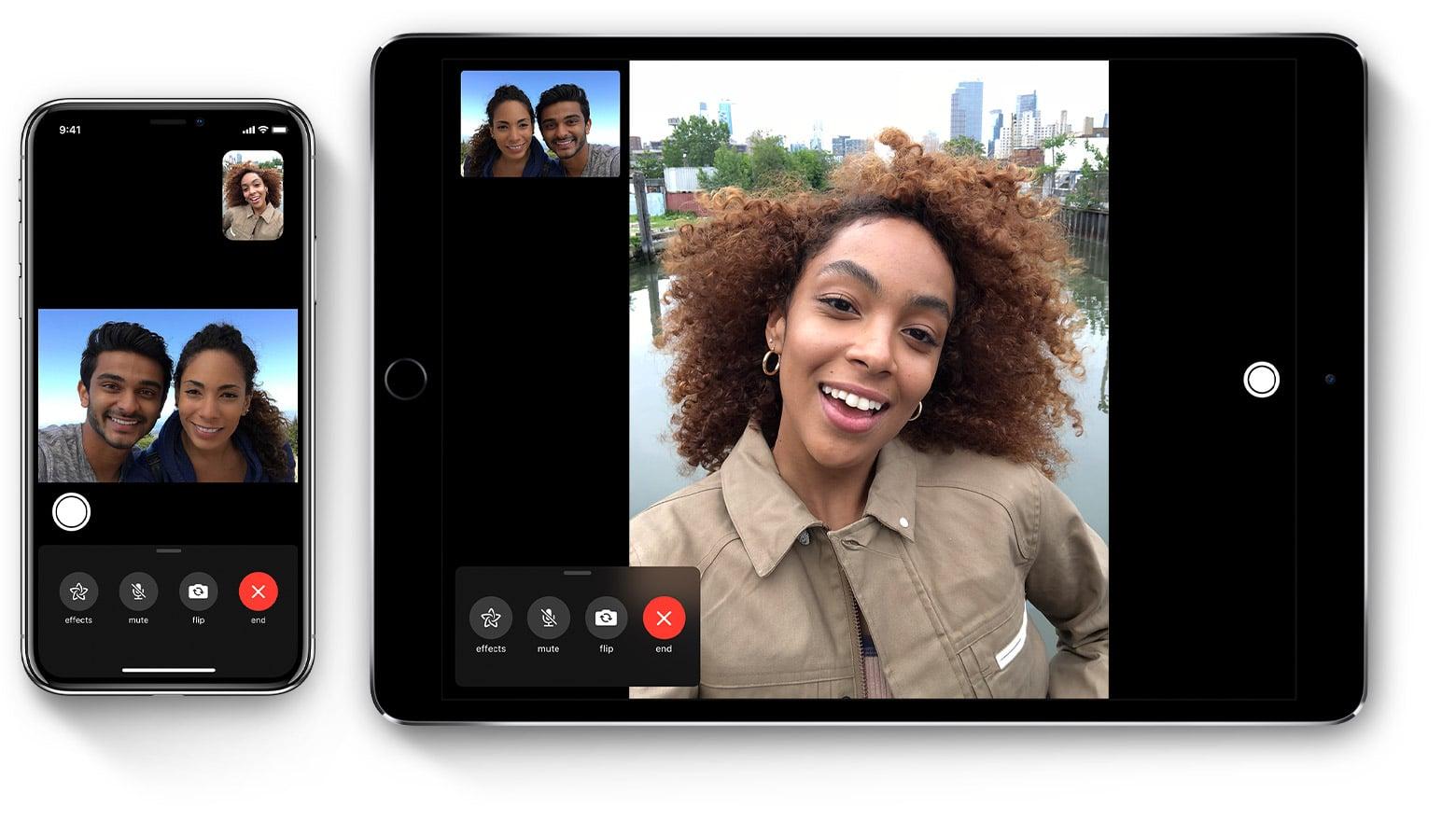 FaceTime no iOS 12