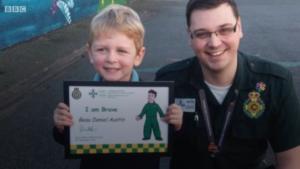 Beau Austin, garotinho que usou a Siri para chamar uma ambulância para a mãe