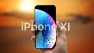 """Conceito de """"iPhone XI"""""""