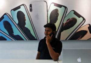 Revendedor autorizado Apple na Índia