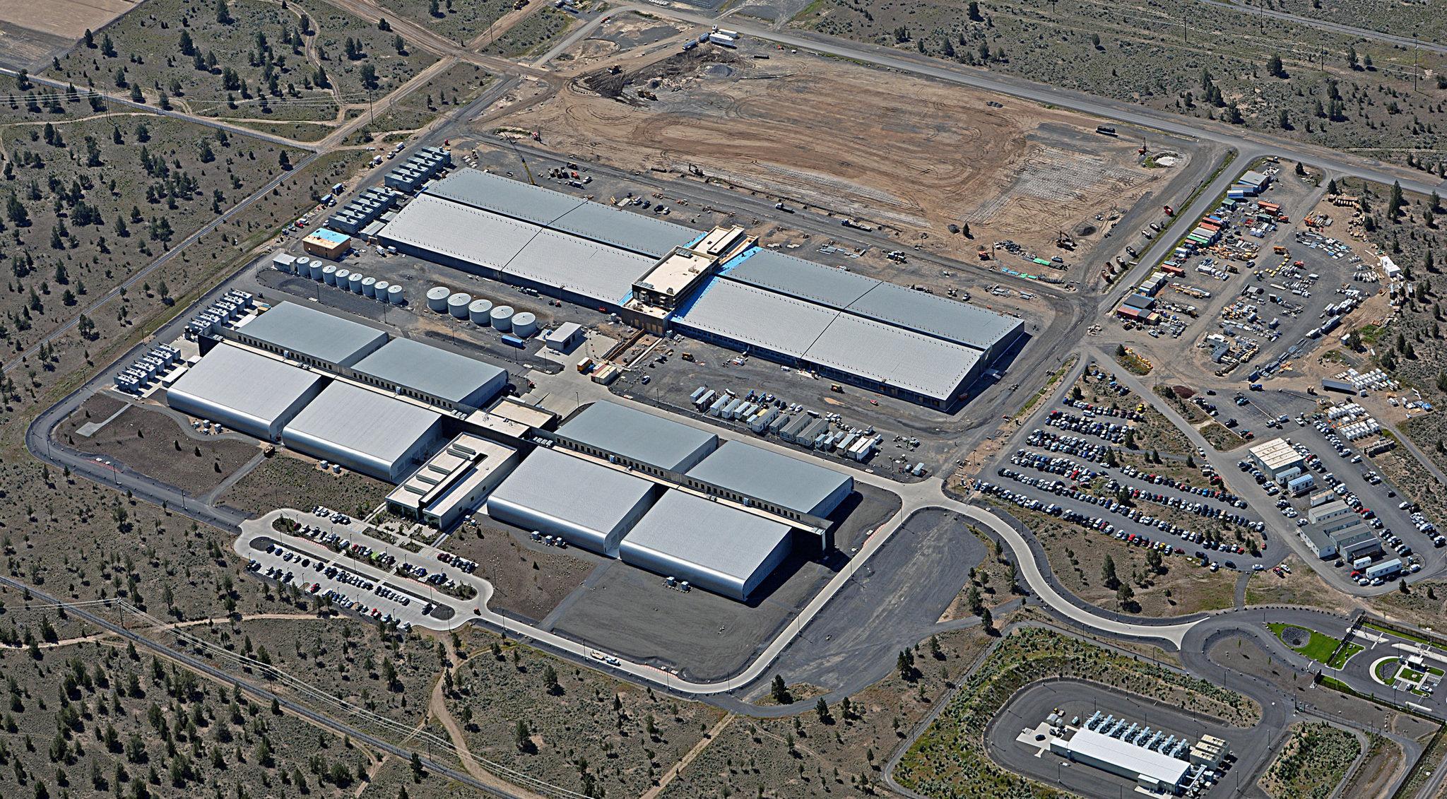 Data centers da Apple em Prineville