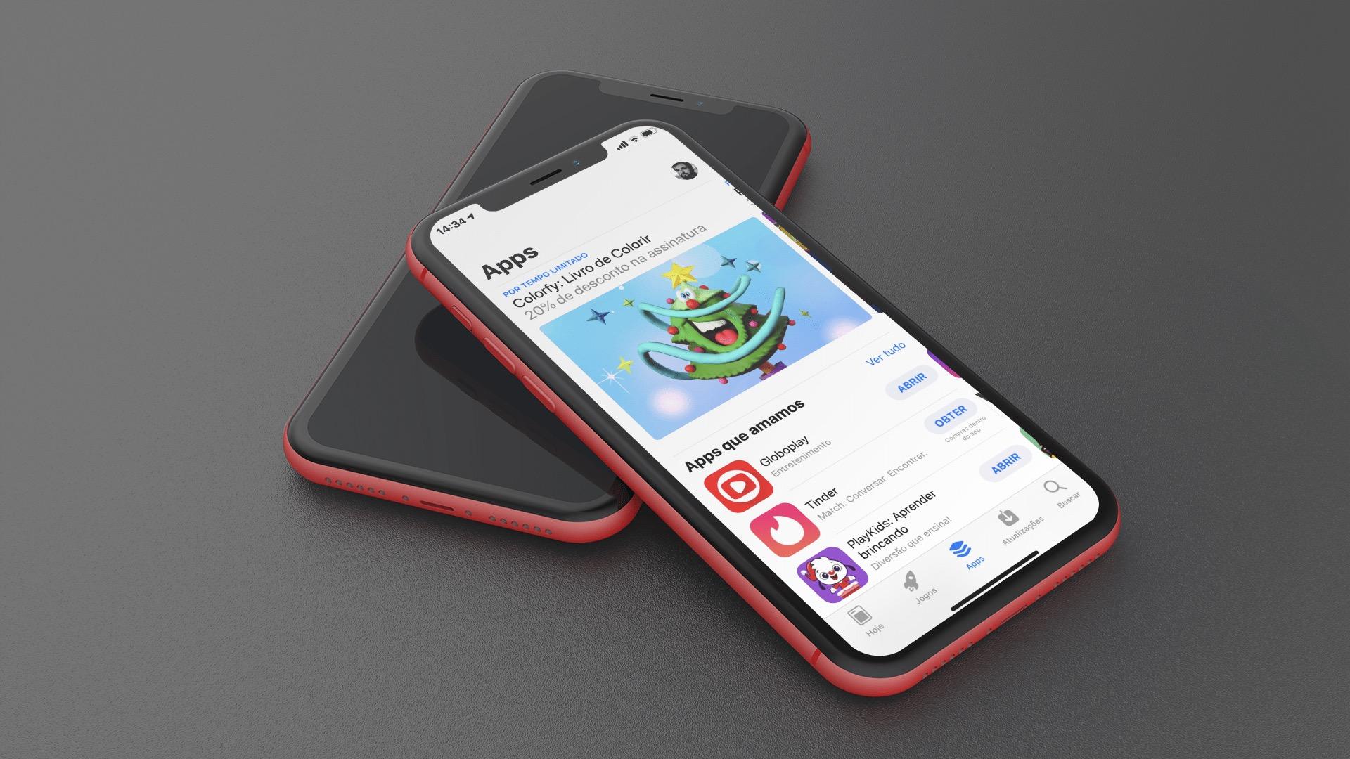 App Store no iPhone XR