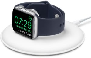 Base com carregador magnético para Apple Watch