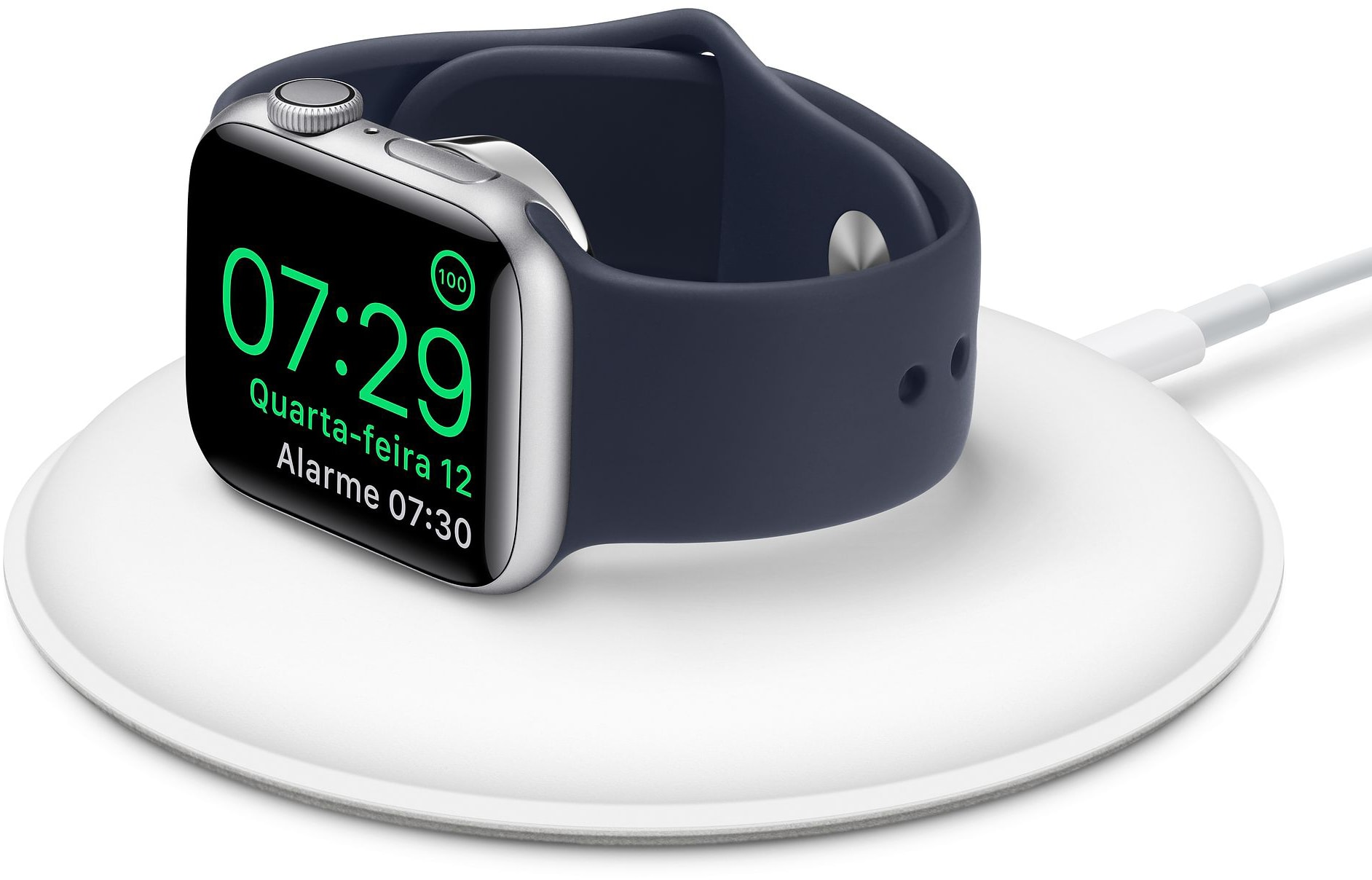 Base com carregador magnético para Apple Watch