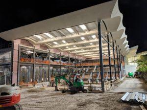 Construções da Apple Aventura Mall