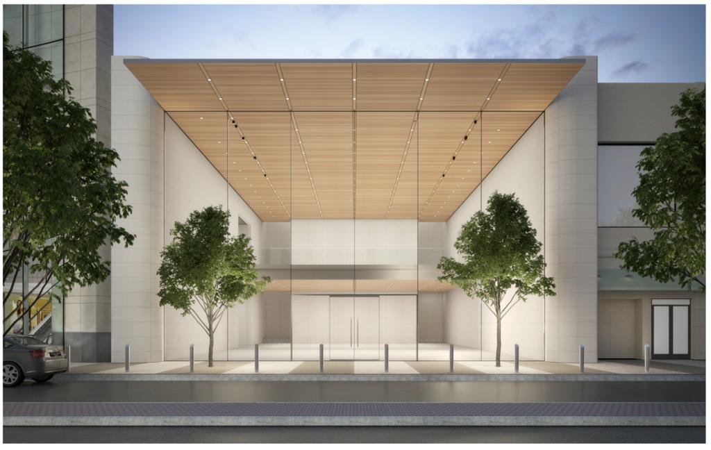 Render da Apple Lenox Square