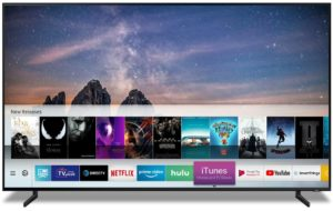 iTunes e AirPlay em TVs Samsung