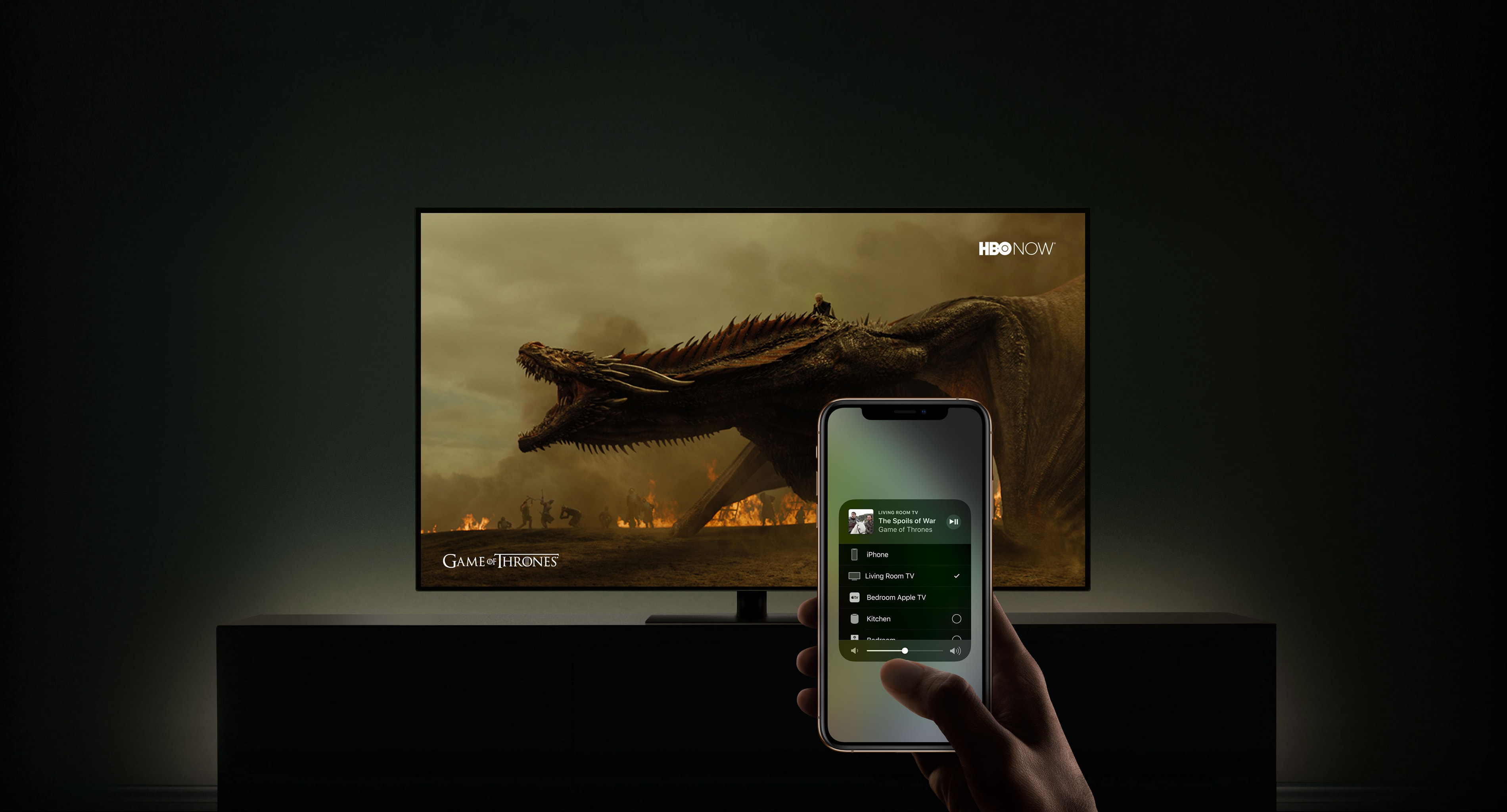 AirPlay 2 em Smart TVs