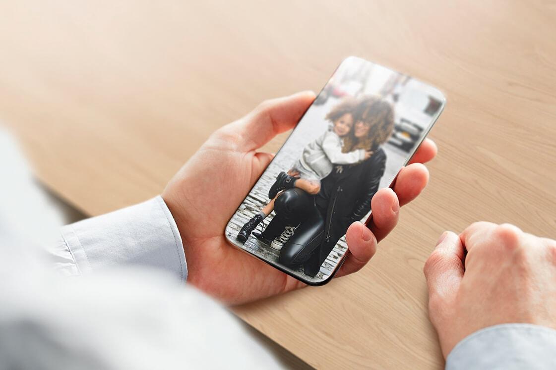 Smartphone sem moldura nenhuma - AMS