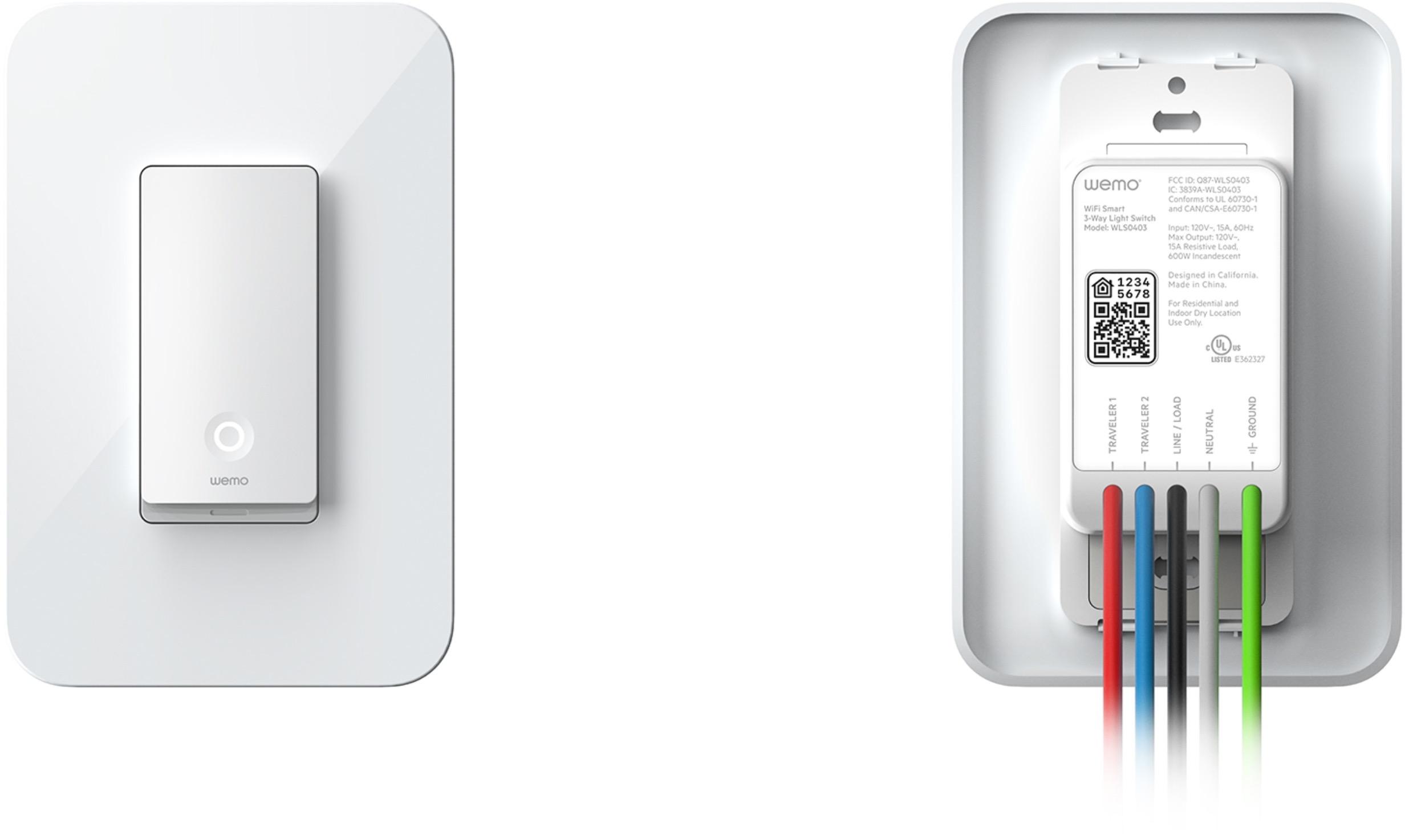 Wemo Light Switch, interruptor compatível com HomeKit