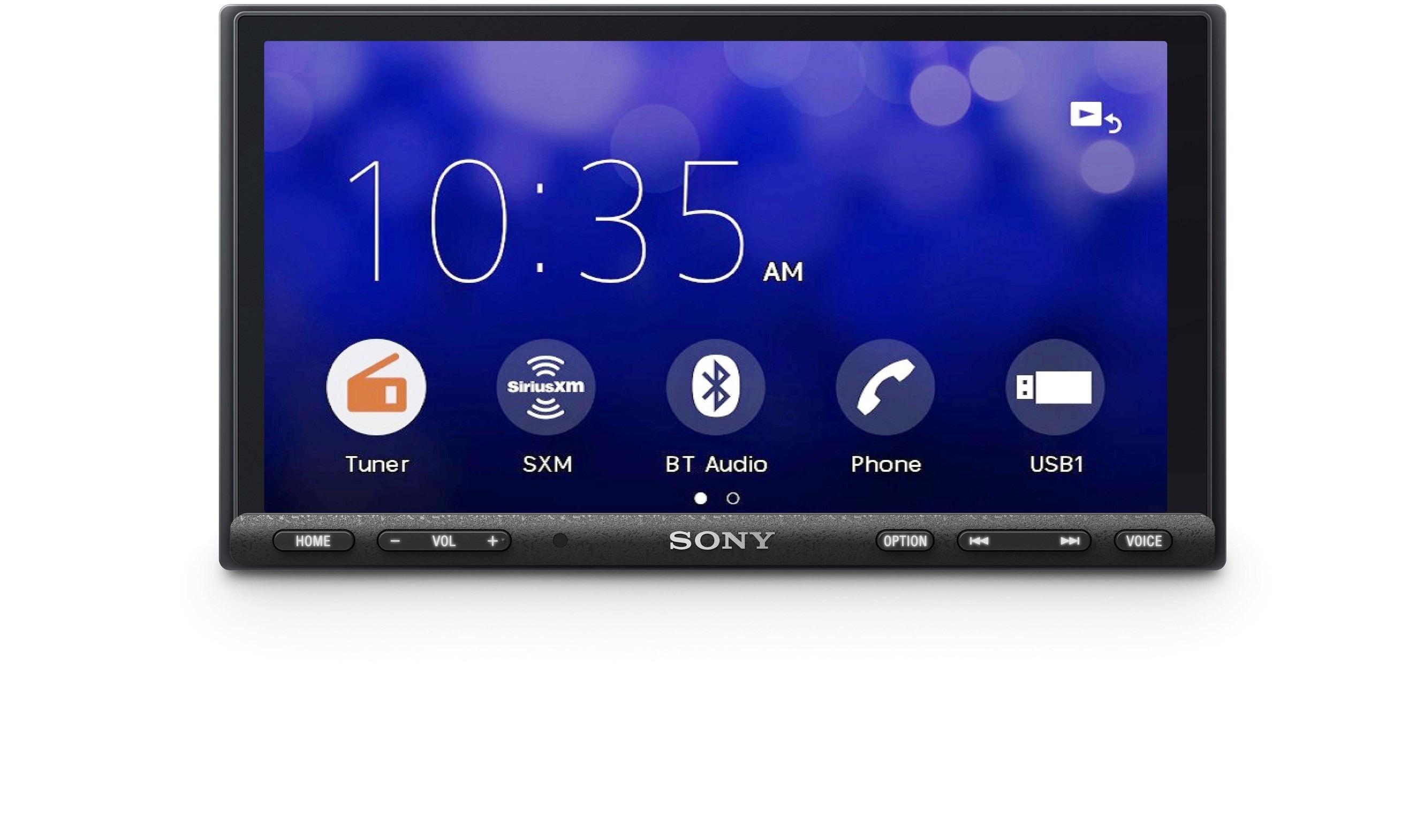 Receptor multimídia Sony XAV-AX7000