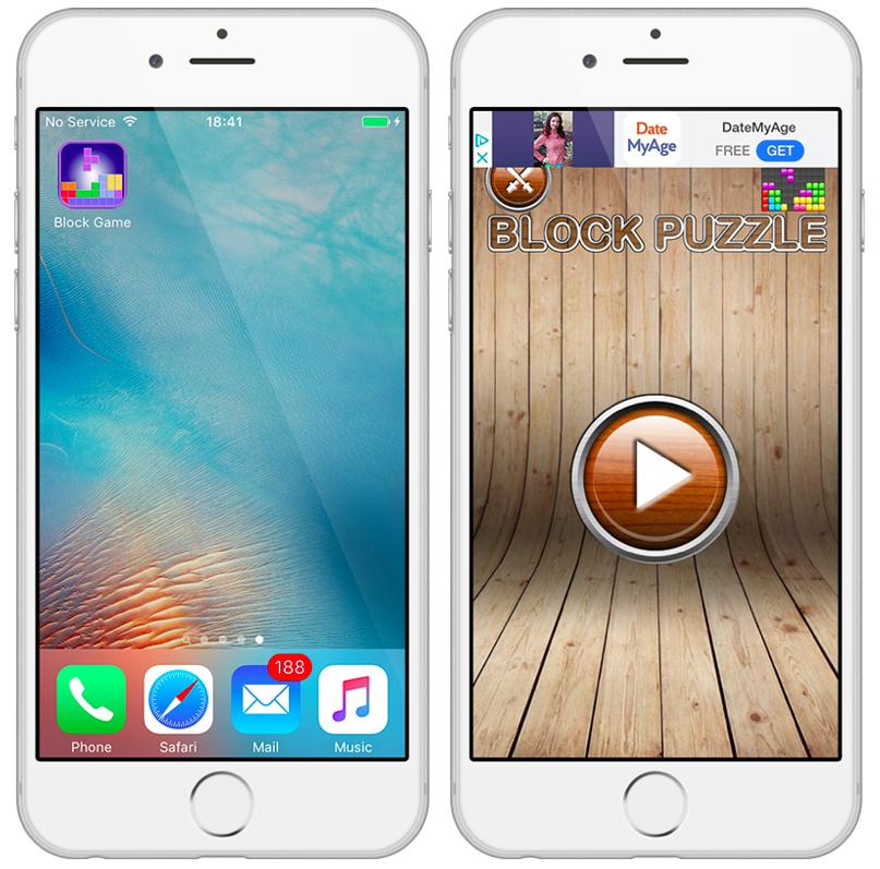 Block Puzzle, jogo para iOS que se comunicava com servidor malicioso