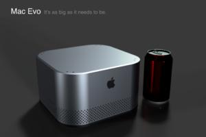 Mac Evo, conceito de Mac de mesa intermediário por Pierre Cerveau