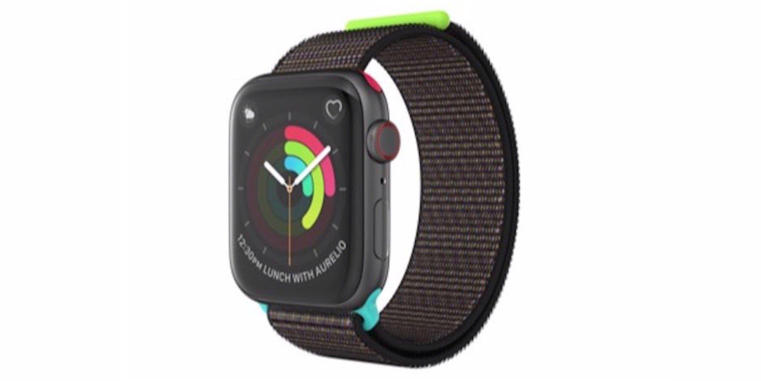 Pulseira especial do Apple Watch para funcionários que concluírem o desafio de 2019